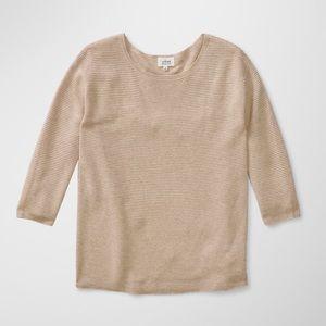 WILFRED Aritzia Blanchard Sweater in Beige